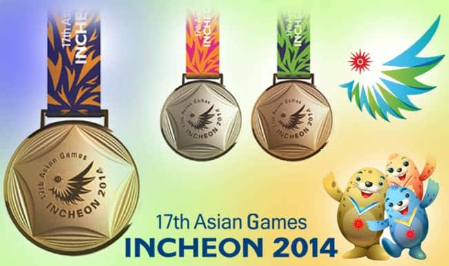 17 asian games incheon - Asian Games Medal