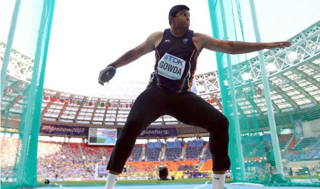 Vikas Gowda wins silver medal in Men's Discus Throw in Asian Games 2014
