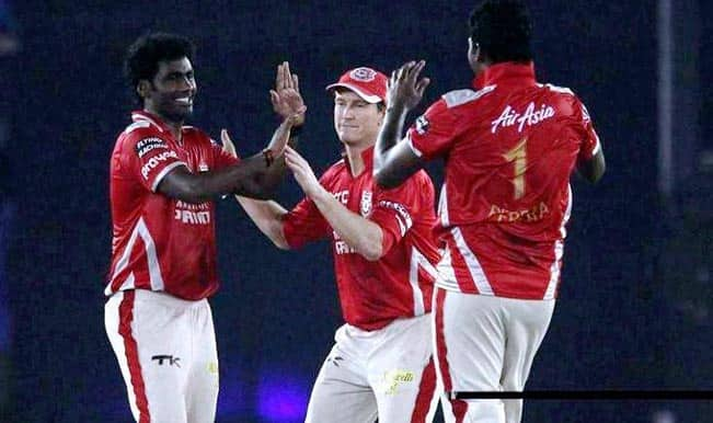 Kings XI Punjab (KXIP) vs Barbados Tridents (BT) Live Cricket Score Updates of CLT20 2014; KXIP beat BT by 4 wickets