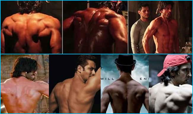 Shahrukh Khan has the sexiest back in B-town