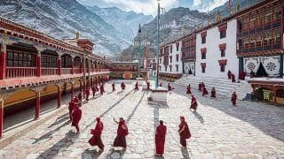 Himachal Pradesh: Over 150 Monks Test COVID Positive at Gyuto Monastery, 1 Critical, Others Quarantined