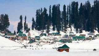 Snow-laden Paradise: Intense Cold Conditions in Kashmir Valley, Gulmarg Chilliest at -11 Degrees Celsius