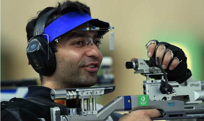 Abhinav Bindra leads India men's team to win bronze in 10m air rifle in Asian Games 2014