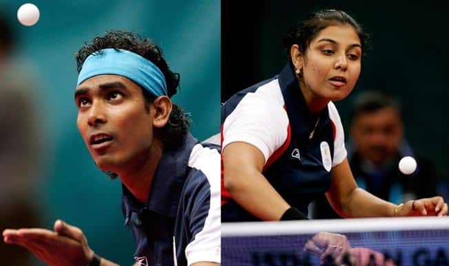 Asian Games 2014 Table Tennis: Bitter-sweet day for India as Mixed doubles team crash out while women's doubles progress