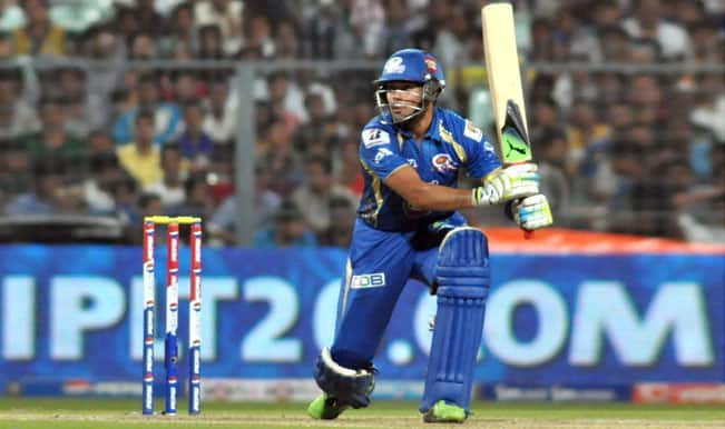 Champions League T20 2014: Mumbai Indians reach 135/7 against Lahore Lions in CLT20 2014