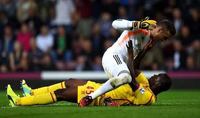 Barclays Premier League 2014-15: Raheem Sterling's effort goes waste as West Ham crush Liverpool 3-1