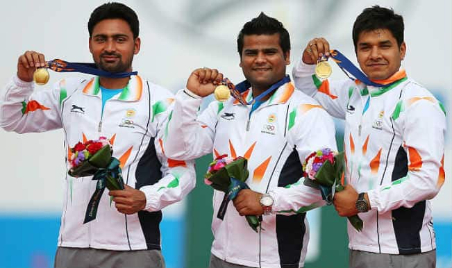 Asian Games 2014: 5 things to know about the Gold Medalist archers Rajat Chauhan, Sandeep Kumar & Abhishek Verma