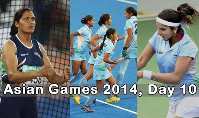 Asian games india tennis