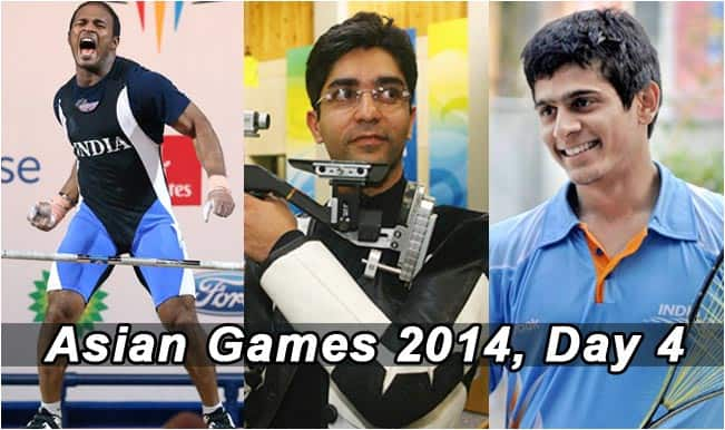 Asian Games 2014 Live Updates: A look at Indian medallists in Incheon at the end of Day 4