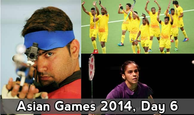 Asian Games 2014 Live Updates: Shooters, Rowers, Archers, Squash stars brighten up Day 6 in Incheon