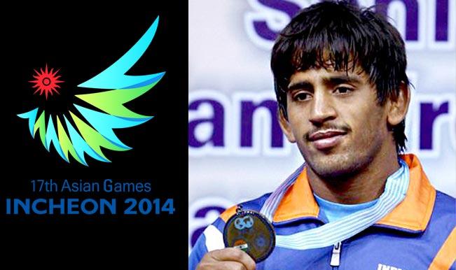 Wrestler Bajrang settles for silver in Men's Freestyle 61 kg category at Asian Games 2014