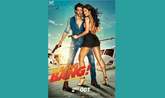 Bang Bang New Poster: Hrithik Roshan and Katrina Kaif all bronzed up