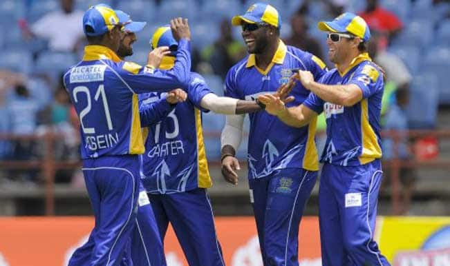 Hobart Hurricanes (HH) vs Barbados Tridents (BT) Live Cricket Score Updates of CLT20 2014: HBH win by six wickets