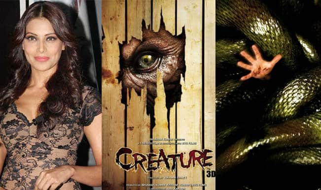 Is Bipasha Basu comparing 'Creature 3D' with 'Anaconda'?