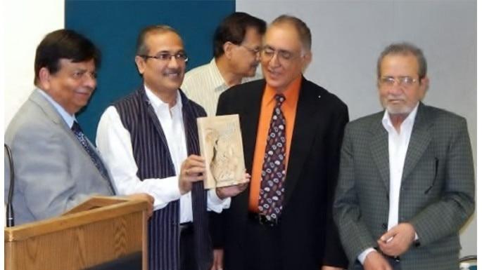 Surinder Deol's Book on Ghalib released at Kavi Sammelan in Washington DC