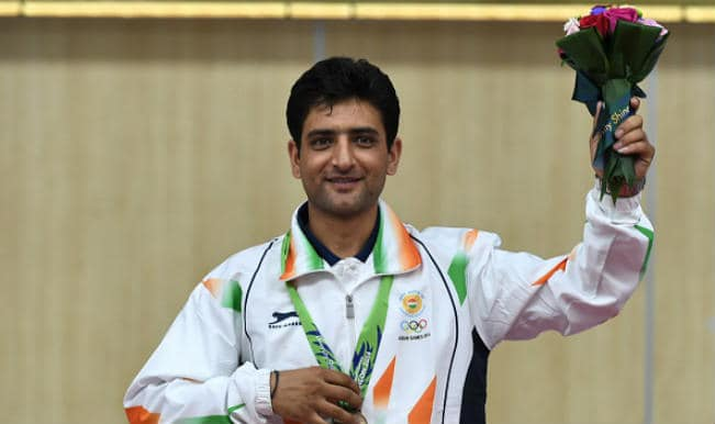 Shooter Chain Singh wins bronze medal in Men's 50m Rifle 3 Positions in Asian Games 2014