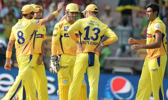 Live Cricket Score Board & Ball by Ball Commentary of Chennai Super Kings (CSK) vs Perth Scorchers (PRS) Group A Match 15 of Champions League T20 (CLT20) 2014