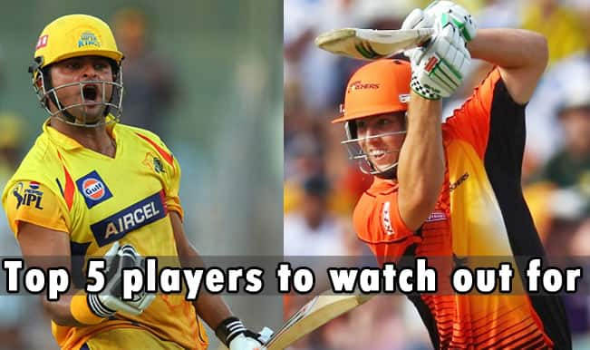Champions League T20 (CLT20) 2014, Chennai Super Kings vs Perth Scorchers: Top 5 players to watch out for in Group A Match 15