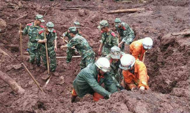 11 miners confirmed dead in landslide in China
