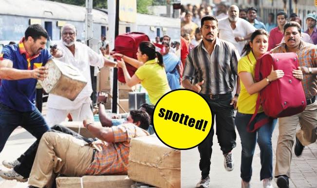 Parineeti Chopra and Aditya Roy Kapur fight at Hyderabad station!