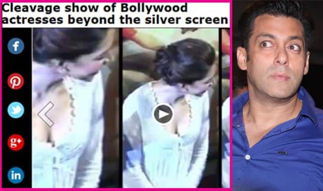 Deepika Padukone cleavage controversy: Salman Khan suffers the most?