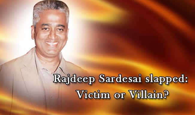 Rajdeep Sardesai slapped outside Madison Square Garden Watch Full Video: Is the Consulting Editor a Victim or Villain?