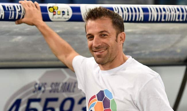 Indian Super League: Delhi Dynamos' marquee player Alessandro del Piero arrives in India