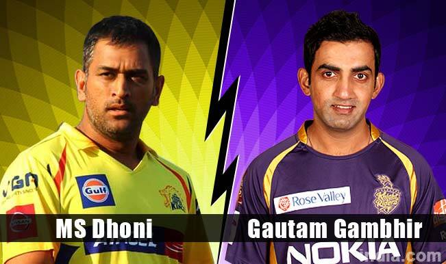 Chennai Super Kings (CSK) vs Kolkata Knight Riders (KKR) CLT20 2014: MS Dhoni or Gautam Gambhir – Who will outwit the other in battle of IPL captains?