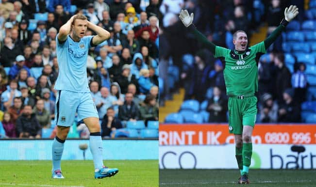 Manchester City vs Sheffield Wednesday, 3 Key Battles, Capital One Cup 2014-15: Will Chris Kirkland manage to shut out Edin Dzeko & co?