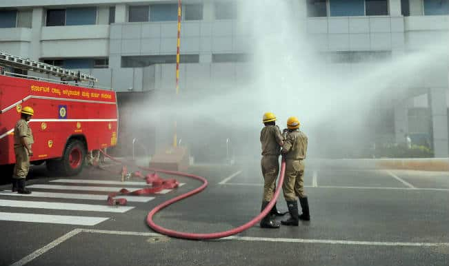 Kolkata fire: Trapped persons rescued from Chatterjee International Building