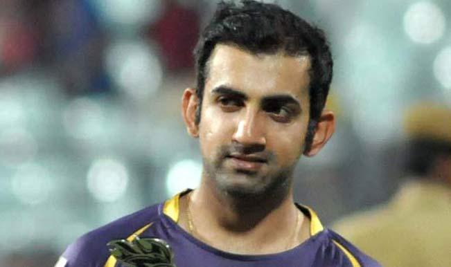 KKR skipper Gautam Gambhir would rather like be a mean winner than polite loser!