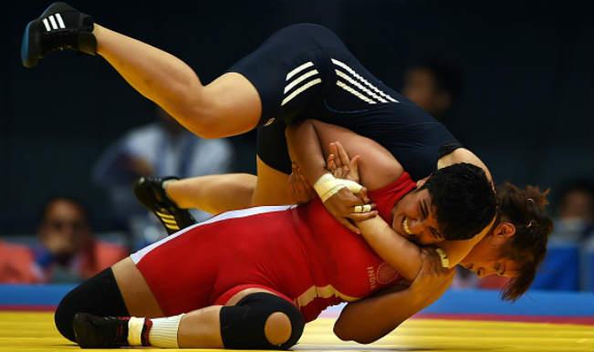 Wrestler Geetika Jakhar wins bronze in Women's Freestyle 63 kg category in Asian Games 2014
