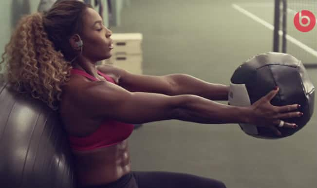 Serena Williams sweats it out in Beats by Dre commercial (Video)