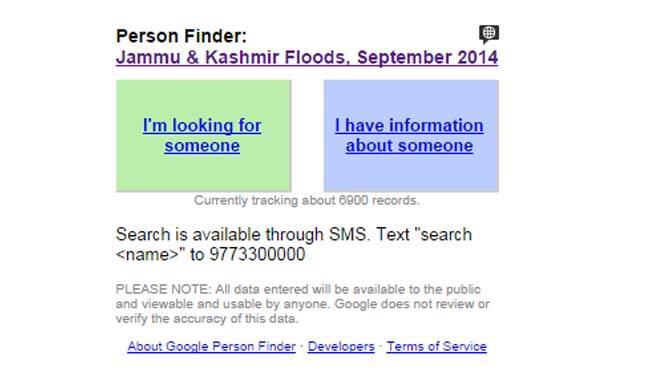 google launches person finder tool for jammu kashmir floods