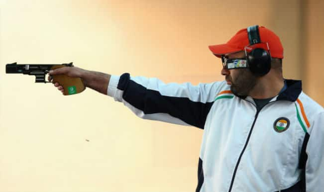 Asian Games 2014: Indian shooters finish fourth in 25m men's rapid fire pistol event