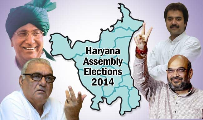 Haryana Assembly Elections 2014: All you want to know about the poll-battle between BJP, Congress, INLD and HJC