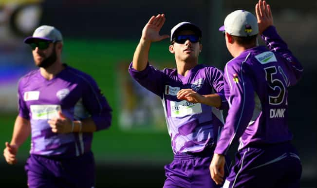 Live Cricket Score Board & Ball by Ball Commentary of Barbados Tridents (BT) vs Hobart Hurricanes (HBH) Group B Match 16 of Champions League T20 (CLT20) 2014