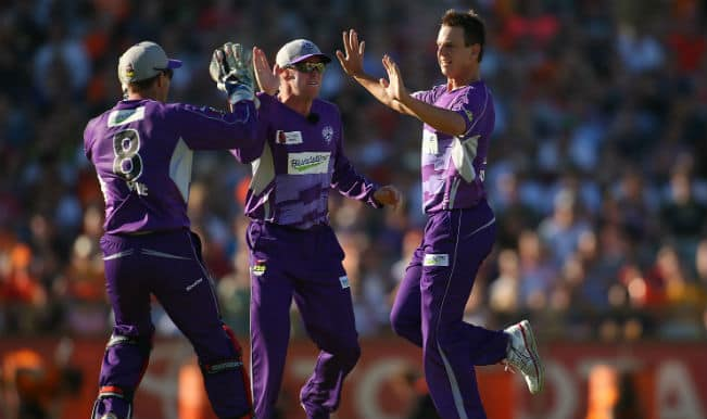 Champions League T20 2014 (CLT20): Cape Cobras (COB) reach 184/6 against Hobart Hurricanes (HBH)