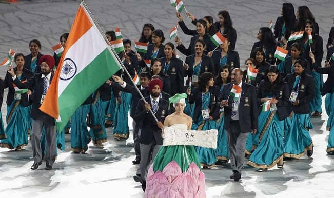Asian Games 2014 Opening Ceremony: Sardar Singh leads Indian contingent at Incheon