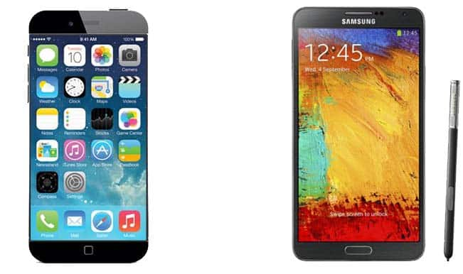iPhone 6 Plus vs Samsung Galaxy Note 4: Apple and Samsung go head to head