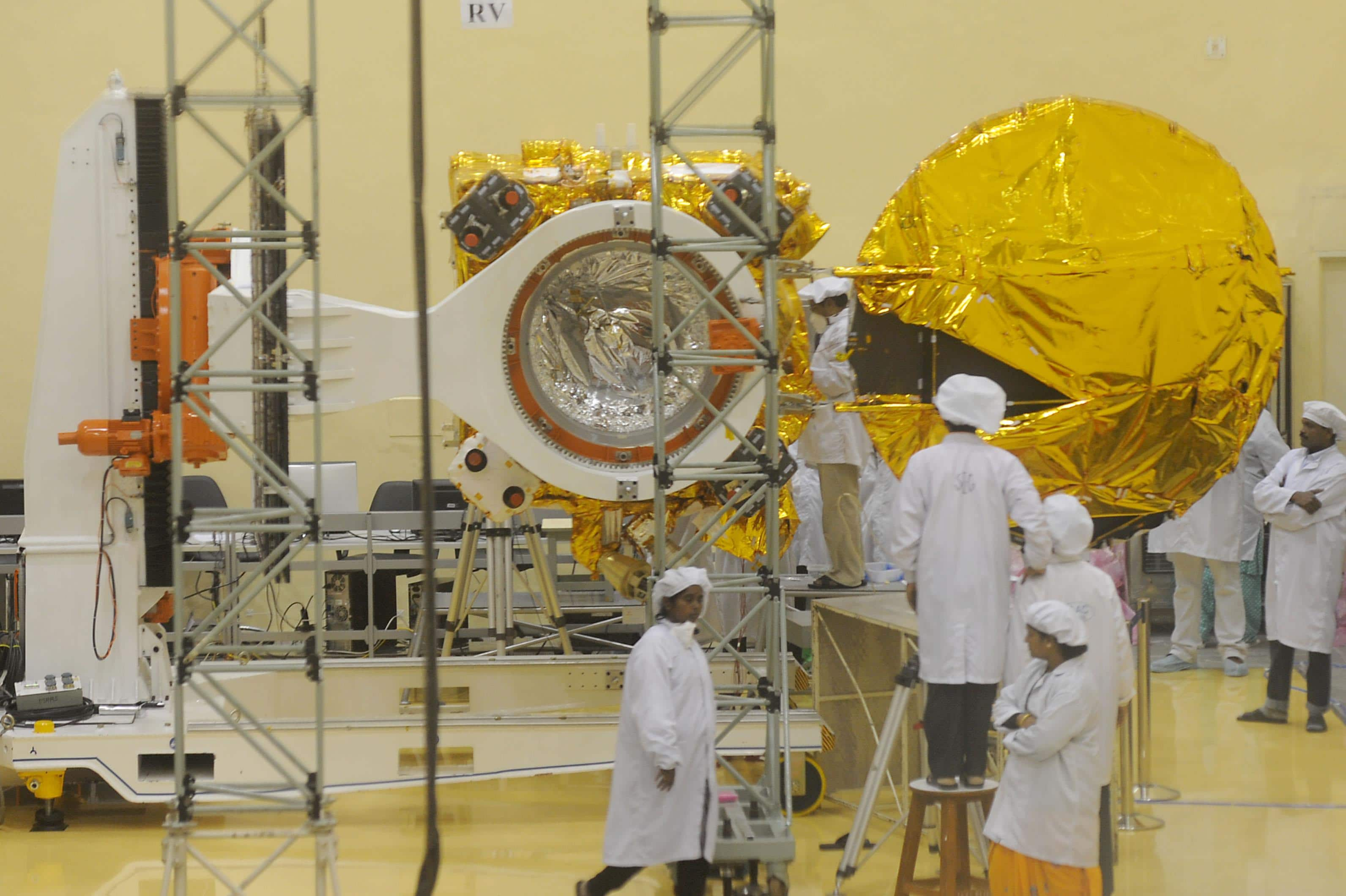 Indian spacecraft enters Martian sphere of influence
