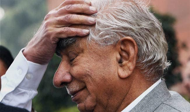 Jaswant Singh continues to be in coma for 26th day, no improvement in condition