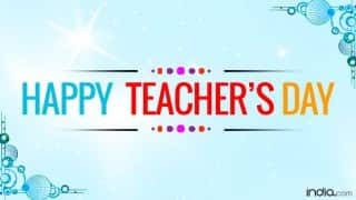 Teachers Day 2016: 5 special gifts to appreciate your Guru