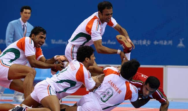 Asian Games  Kabaddi Indian Men Humiliate Thailand To Register Second Straight Win