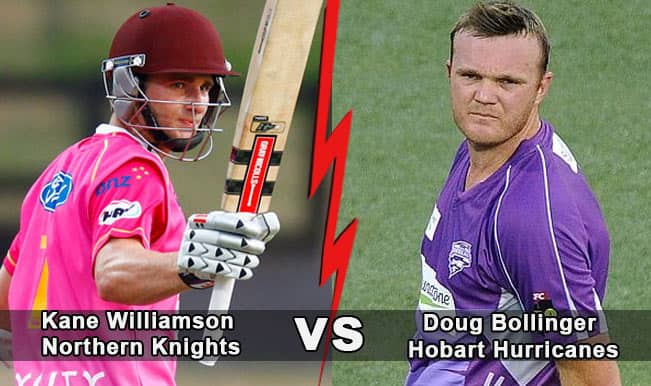 CLT20 2014, Hobart Hurricanes (HBH) vs Northern Knights (NK): Top 3 battles to watch out for