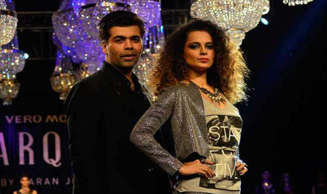 Kangana Ranaut sizzles the ramp for Karan Johar's Vero Moda collection