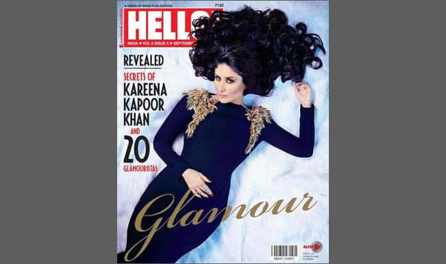 Kareena Kapoor sizzles on the cover of Hello September 2014 issue