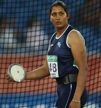 Krishna Poonia Profile: Indian Discus Thrower Krishna Poonia's Latest News & Live Updates from Asian Games 2014