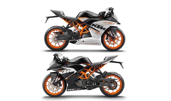 ktm rc 200/390 launch in india, live streaming: ktm rc 200 and ktm