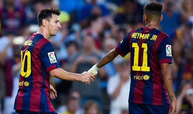 La Liga 2014-15: Watch all goals and highlights as Barcelona register 6-0 win over Granada